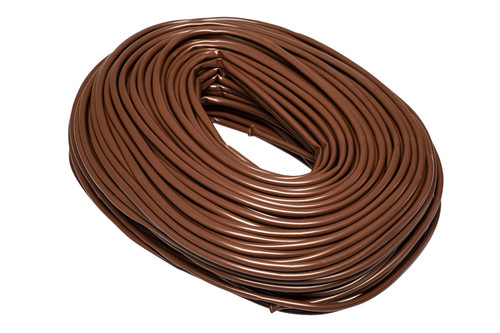 Brown Flexible PVC Cable Sleeving