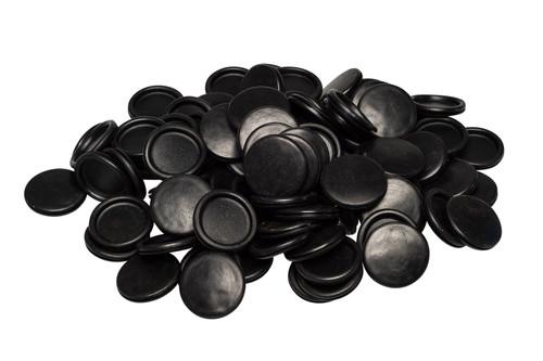 Black Blanking / Blind PVC Grommets