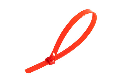 Red Releasable Trigger Cable Ties (Pack of 100)