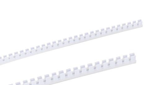 White Grommet Strips