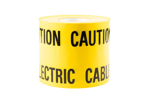 Non-Adhesive Caution Electric Tape