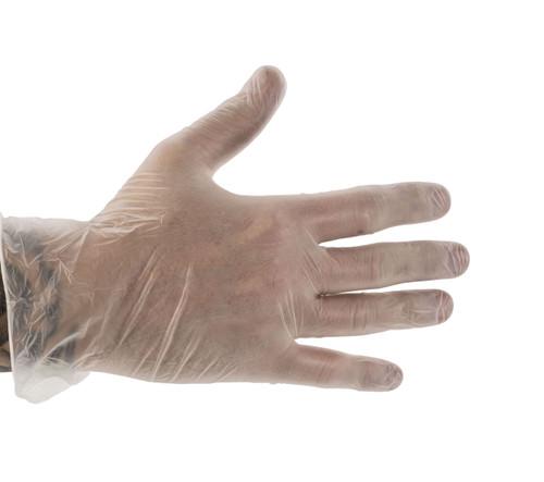 Clear Vinyl Gloves (Box of 100)