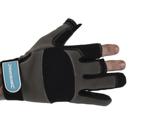 Fingerless Mechanics Gloves (1 Pair)
