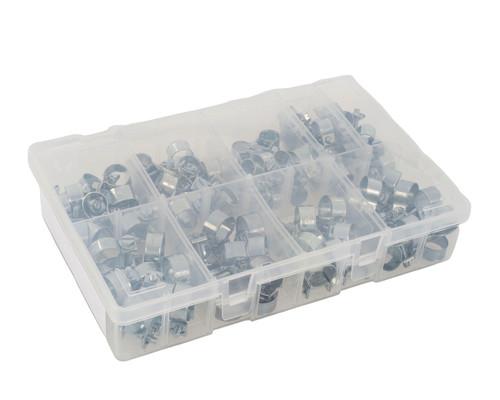 Assorted box of Mild Steel Mini Hose Clips