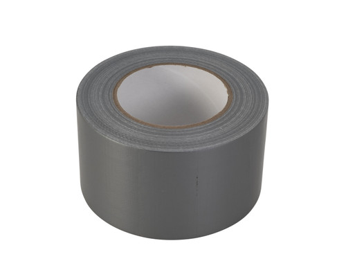 "Premium Wide Silver / Grey Duct Tape - Heavy Duty (3"") Gaffer Tape"