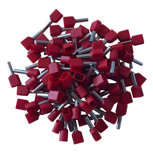 Red Cord End Single Wire Terminals