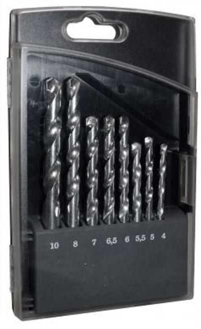 8 Piece Masonry Drill Bit Set (4mm – 10mm)