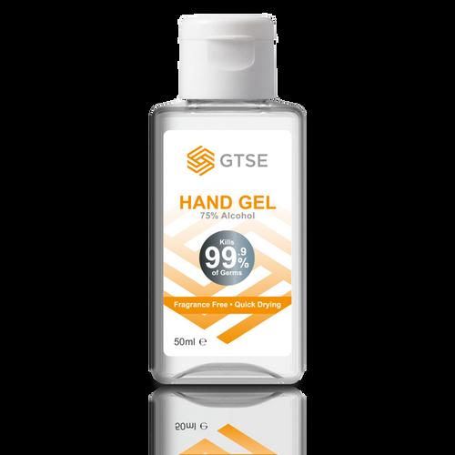 50ml Hand Sanitiser Gel, 75% Alcohol Content