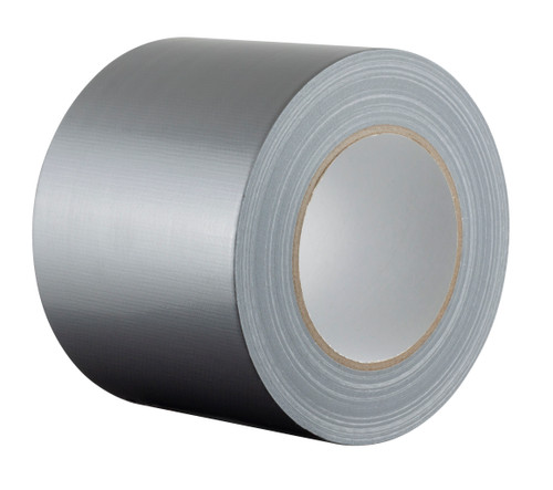 """Extra Wide Silver / Grey Duct Tape - 100mm x 50m (4"""") Gaffer Tape"""