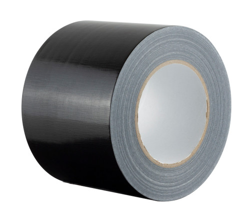 """Extra Wide Black Duct Tape - 100mm x 50m (4"""") Gaffer Tape"""