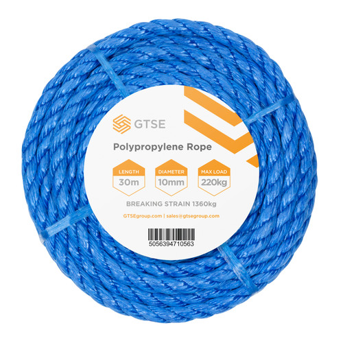 Blue Poly Rope - 10mm x 30m