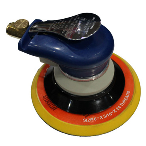 "Top view of Random Orbital Palm Sander with 6""Pad"
