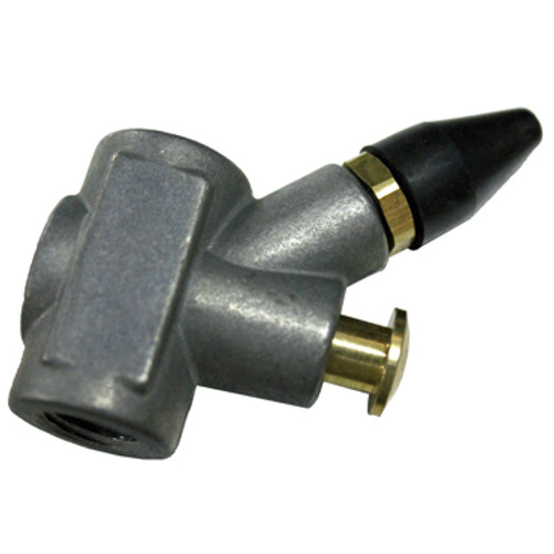 Side view of In-Line Blow Gun with rubber tip