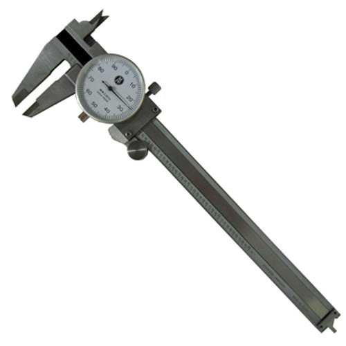 "Image of 6"" Stainless Dial Caliper without storage box"