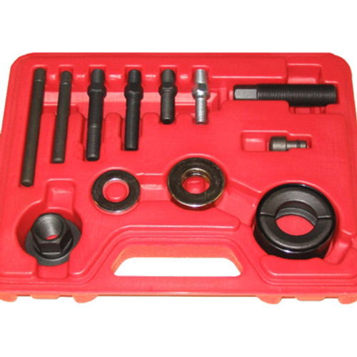 Image of Pulley Puller/ Installer Kit in red blow mold storage case