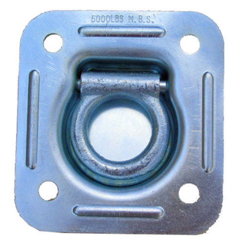 Top View of 5,000 Lb. D-Ring