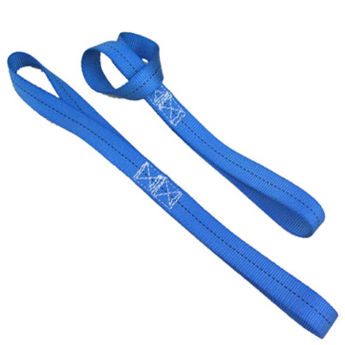Image of two Soft Ties in blue