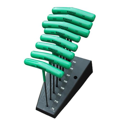 8Pc. Bondhus® Torx T-Handles in Stand