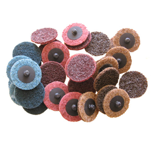 "Image of 2"" fine, medium and coarse Surface Reconditioning Discs"
