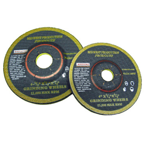 "Picture of 4"" and 4-1/2"" Grinding Wheels"