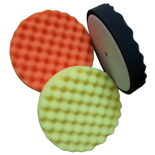 "6"" Foam Pads available in Black, Orange and Yellow"