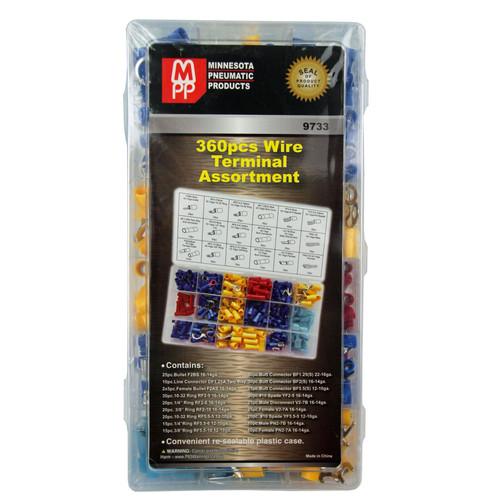 360 Pc. Terminal Assortment Kit