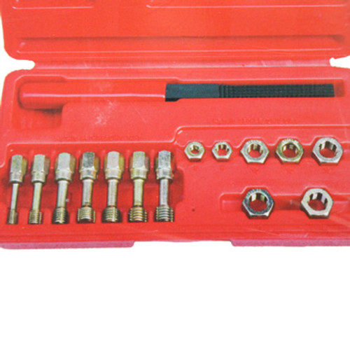 Open package of Metric Rethread Kit