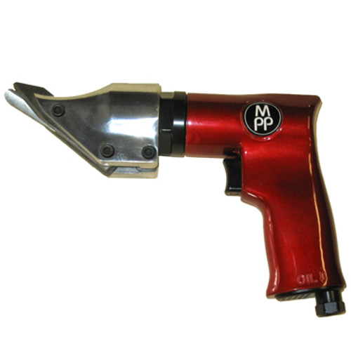 Side view of Metal Shear in popular MPP dark red color
