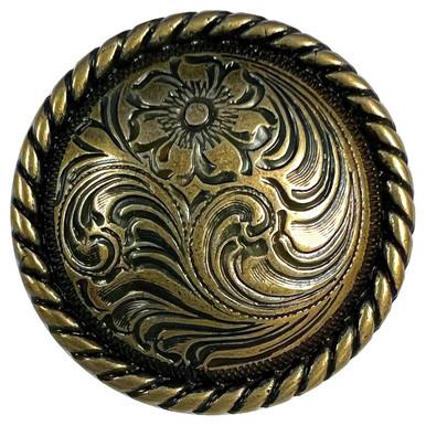 Details about  /Handgun Icon Handmade Brass Game of Thrones Concho Edc