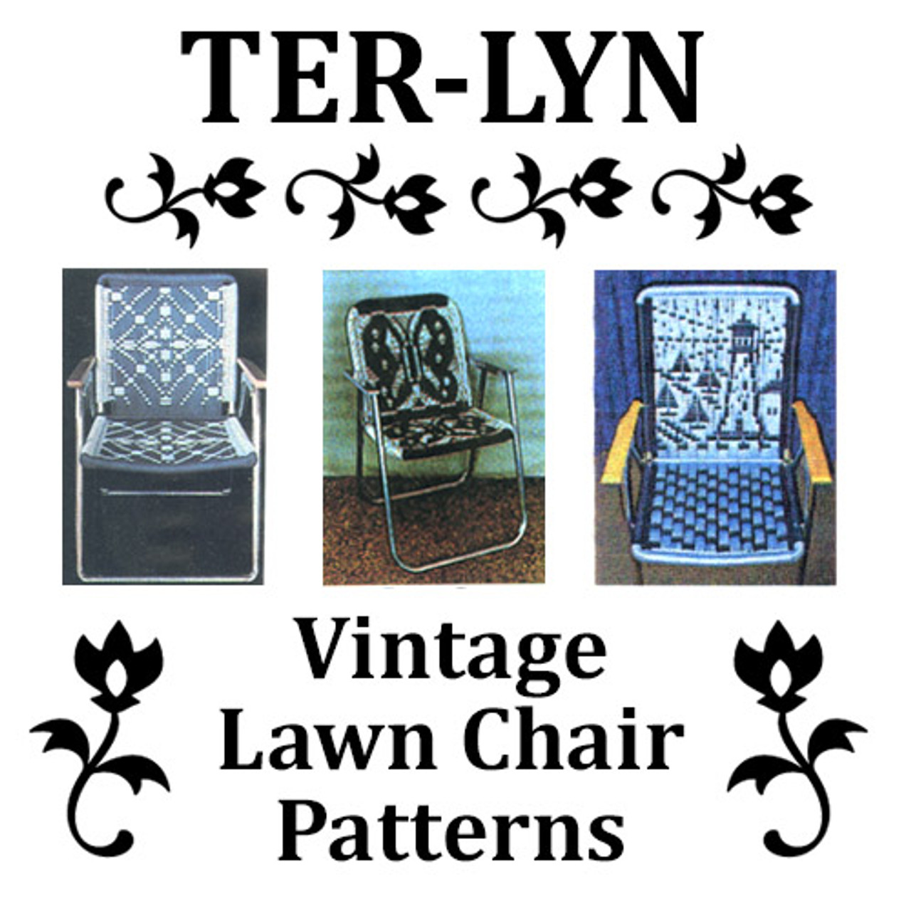 Terlyn Lawn Chair Patterns Weave Your Own Lawn Art