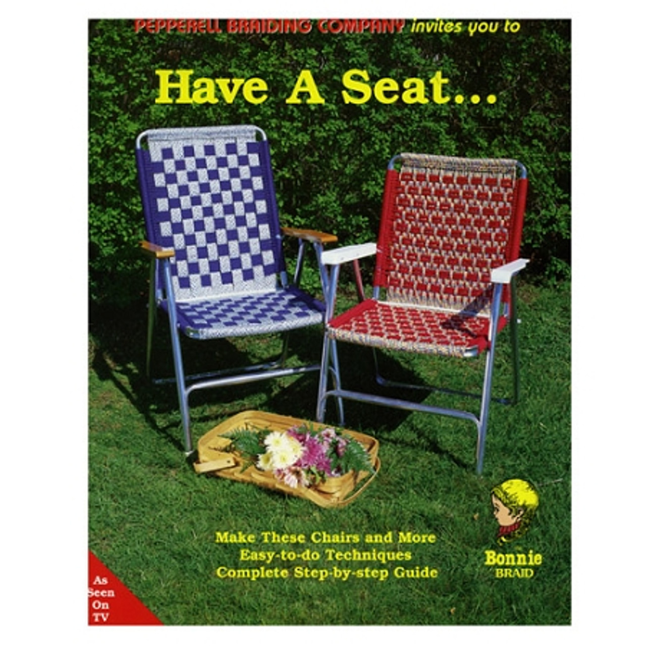 Have A Seat Lawn Chair Pattern Book