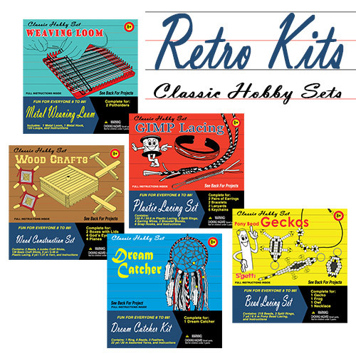 Retro Craft Kits Classic Throw Back To Camp Crafts