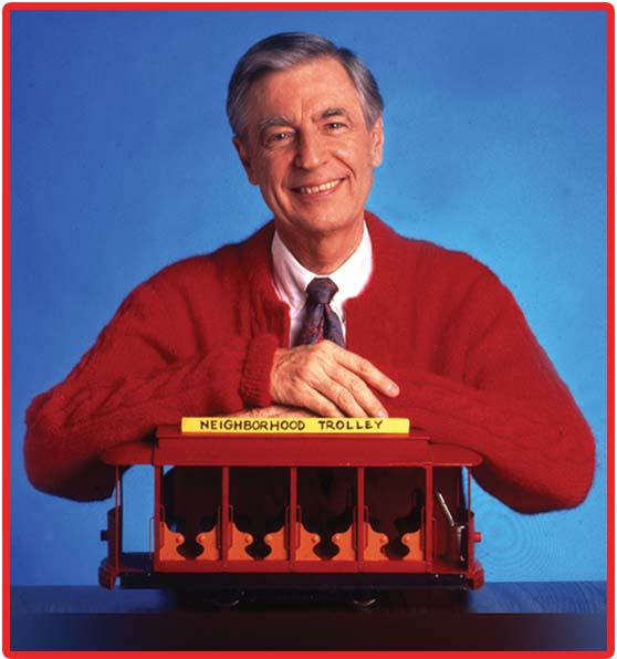 Holgate Comes alive again with the classic Mister Rogers Trolley.