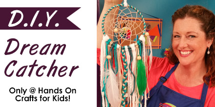 Hands On Crafts: Make a Dream Catcher