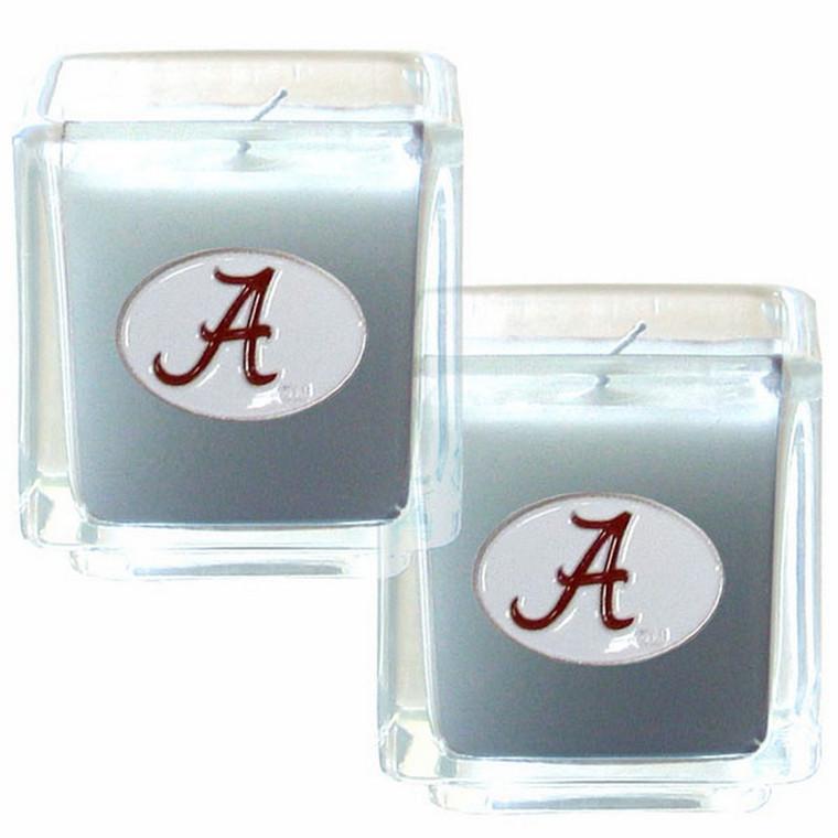 Alabama Crimson Tide Vanilla Candle Set NCCA College Sports C2CD13