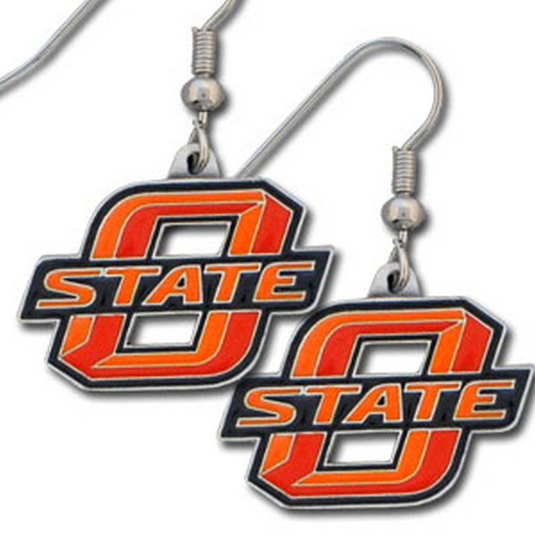 Oklahoma State Cowboys Dangle Earrings NCCA College Sports CDE58