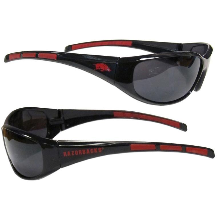 Arkansas Razorbacks Wrap Sunglasses NCCA College Sports 2CSG12
