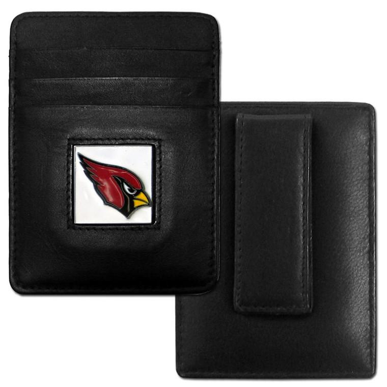 Arizona Cardinals Card Holder Money Clip Wallet FCH035