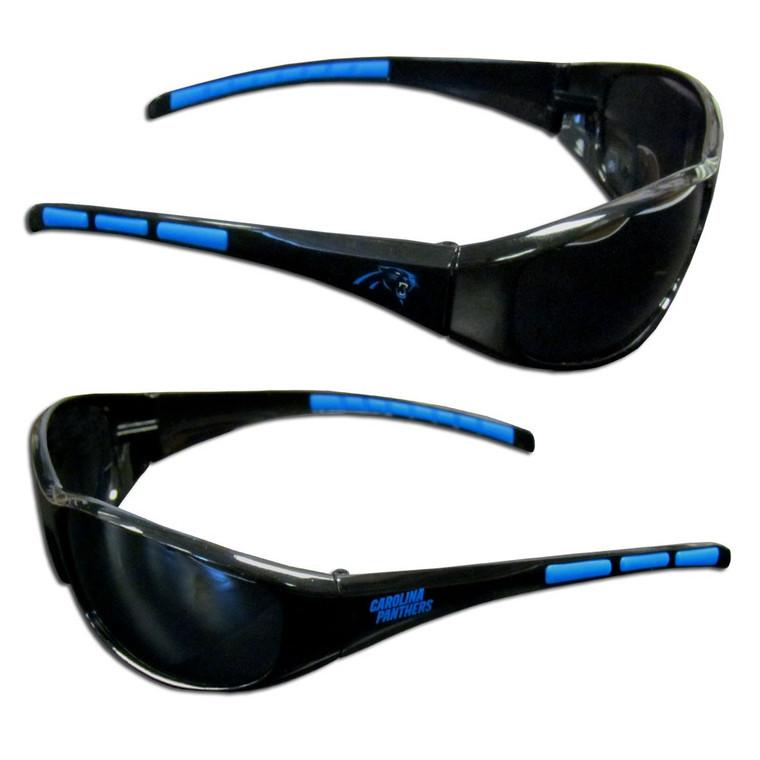Carolina Panthers Wrap Sunglasses