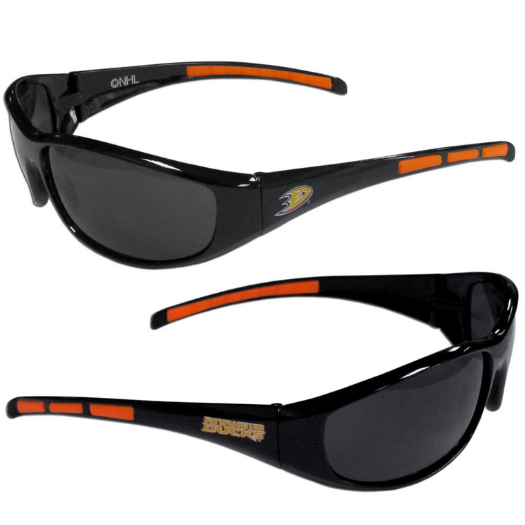 Anaheim Ducks Wrap Sunglasses NHL Hockey 2HSG55
