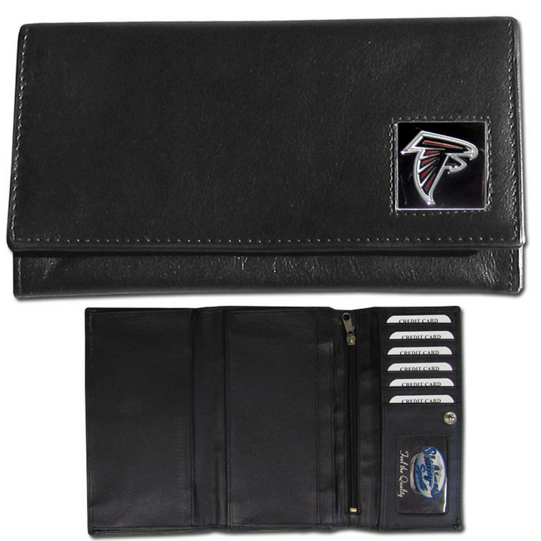 Atlanta Falcons Black Women's Leather Wallet FFW070