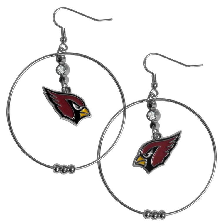 Arizona Cardinals Hoop Earrings FHE035