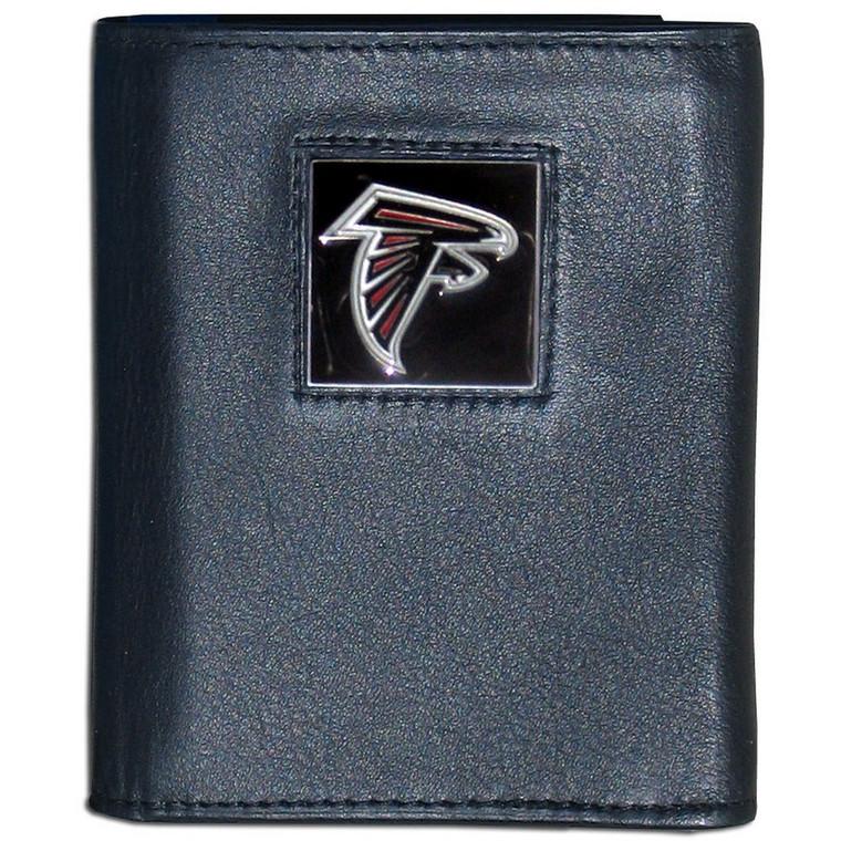 Atlanta Falcons Black Trifold Wallet NFL Football FTR070