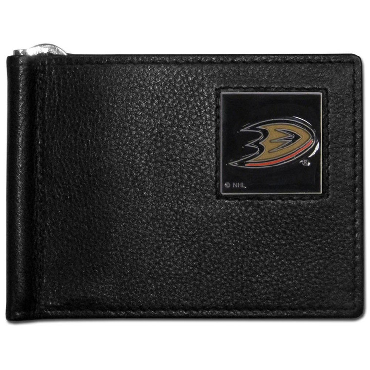 Anaheim Ducks Bill Clip Wallet NHL Hockey HBCW55