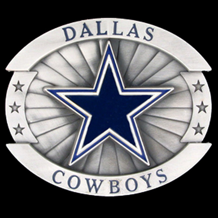 Dallas Cowboys Oversized Belt Buckle NFL Football OFB055