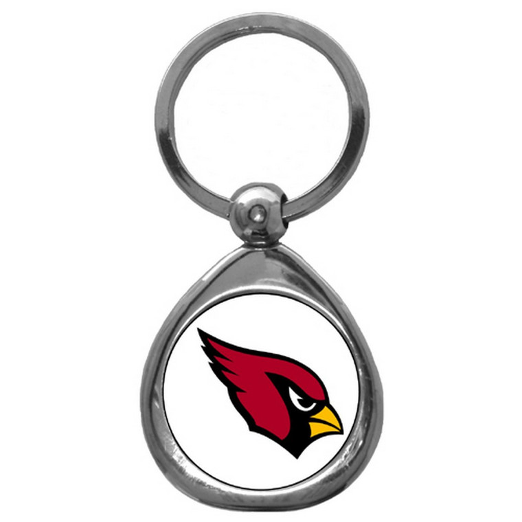 Arizona Cardinals Domed Key Chain NFL Football SFK035C