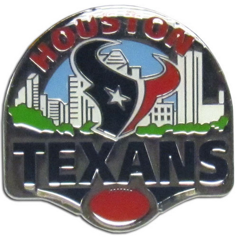 Houston Texans Team Pin NFL Football SFP190C