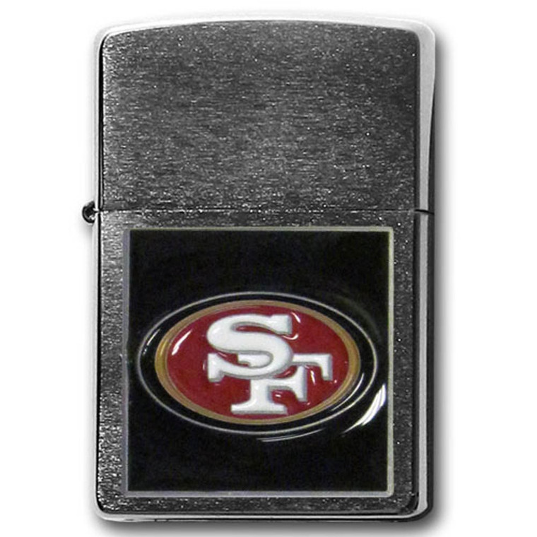 San Francisco 49ers Zippo Lighter NFL Football ZFL075