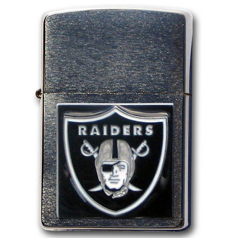 Oakland Raiders Zippo Lighter NFL Football ZFL125