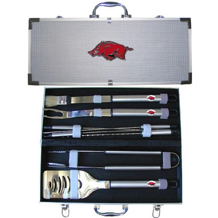 Arkansas Razorbacks BBQ Set 8 pc NCCA College Sports BBQC12B